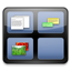 デスクトップアクセサリに最適なスキン対応システムモニター「Akabei Monitor」