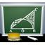 PC上で黒板をシミュレーションできるソフト「AKI 黒板 Nx」