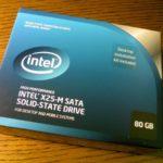 インテルのSSD「X25-M Mainstream」80GBレビュー!