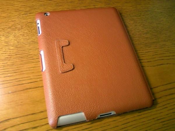 ELECOMのiPad 2用ソフトレザーケース「TB-A11MPLF」レビュー!