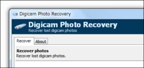 Digicam Photo Recoveryのスクリーンショット