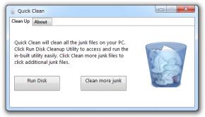 Quick Cleanのスクリーンショット