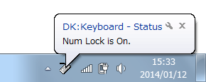 DK:Keyboard-statusのスクリーンショット