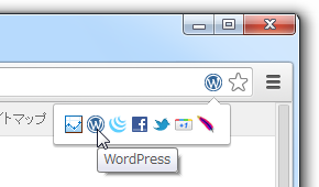 Chrome Snifferのスクリーンショット