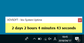 Vov System Uptimeのスクリーンショット