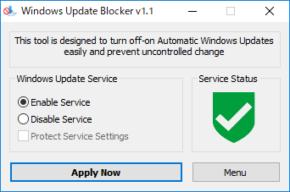 Windows Update Blockerのスクリーンショット