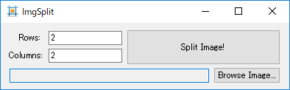 ImgSplitのスクリーンショット