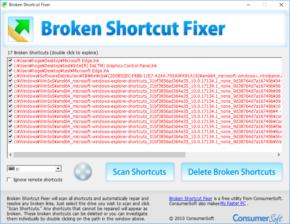 Broken Shortcut Fixerのスクリーンショット