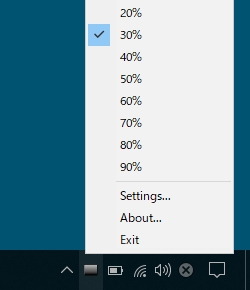 DimScreenのスクリーンショット