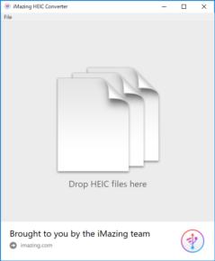 iMazing HEIC Converterのスクリーンショット