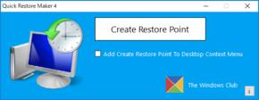 Quick Restore Makerのスクリーンショット