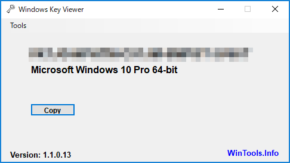 Windows Key Viewerのスクリーンショット