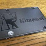 キングストンのSATA接続のSSD「A400」シリーズ240GBレビュー!