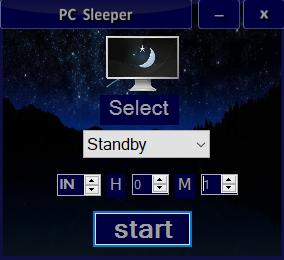 PC Sleeperのスクリーンショット